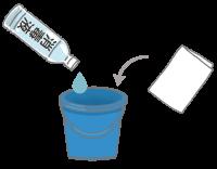 手づくり次亜塩素酸ナトリウム消毒液