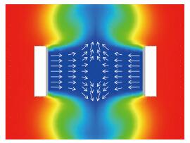 気流のイメージ図